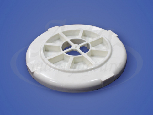 Платформа под люстру круглая пластиковая маленькая