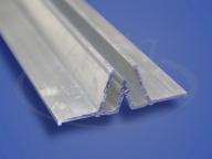 Профиль разделительный алюминиевый, гарпунная система
