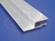 Профиль стеновой алюминиевый, гарпунная система