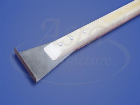 Шпатель 90 градусов с одним гибом, длина ручки 40 см