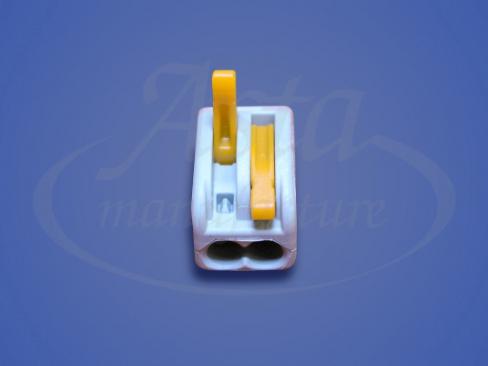 Клеммники WAGO 412/50 с нажимными рычагами