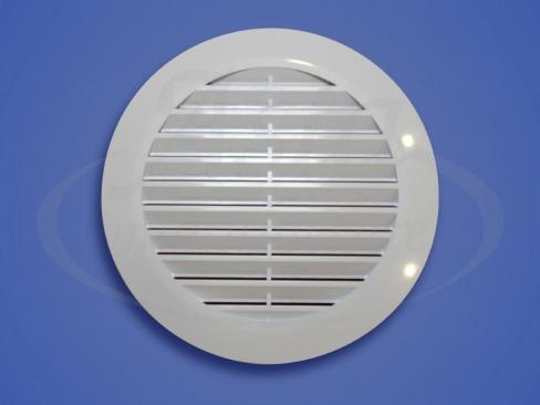 Решетка вентиляционная белая 125 мм