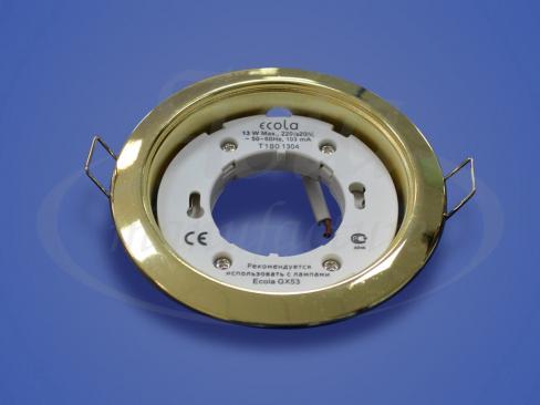 Светильник Экола GX53 золото