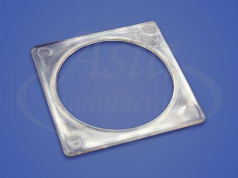 Термоквадрат прозрачный 70х70 мм