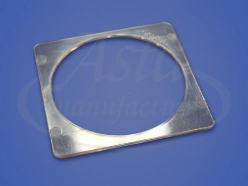 Термоквадрат прозрачный, 90х90 мм