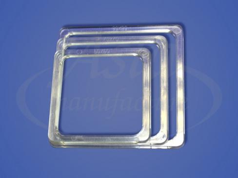 Термоквадрат прозрачный LED, 60x60, 70х70, 80х80 мм
