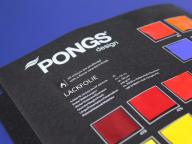 Каталог материалов Pongs малый