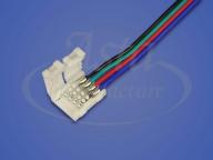 Коннектор LED CN-10 мм (5050 RGB, провод 15 см)