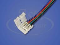Коннектор LED CN2-10 мм (5050 RGB, провод 15 см)