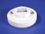Лампа Экола светодиодная GX53 8,5W ,2800K, теплый свет, матовое стекло