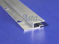 Профиль стеновой алюминиевый гарпунная система перфорированный облегченный