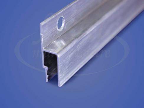 Профиль стеновой алюминиевый перфорированный гарпунный