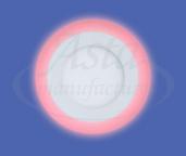 фото светильника LPL 6W+3W красный