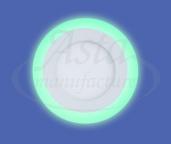 фото светильника LPL 6W+3W зеленый